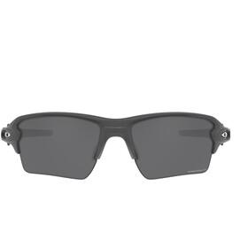 Oakley Flak 2.0 XL Okulary przeciwsłoneczne, steel/prizm black iridium polar